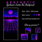 Aesthetic Pay To Use Custom Box Background by Oce3D-Rainbow