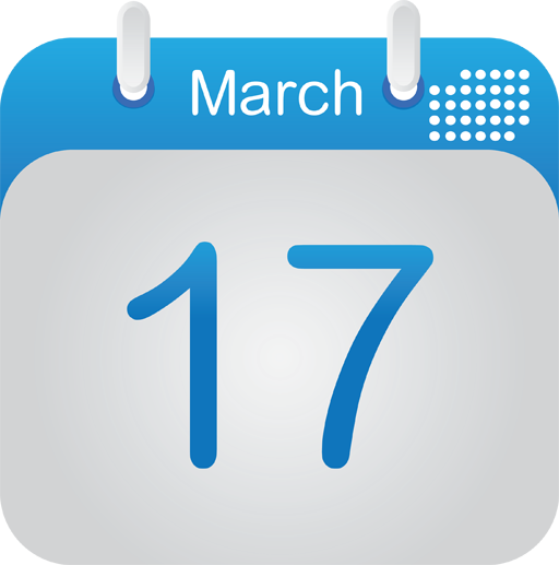 Calendar Icon Blue : Calendar icon by karanrajpal on deviantart
