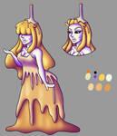 OC: Candle Princess Ref