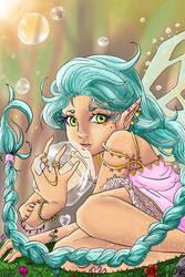 Bubble Fairy by Cerlinna