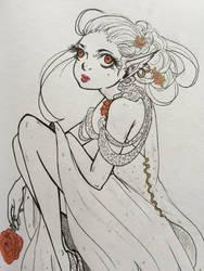 Flower pixie by Cerlinna
