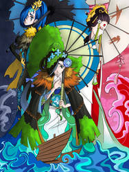 Shikigami Ame Onna by Cerlinna