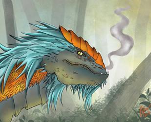 Forest Dragon by Cerlinna