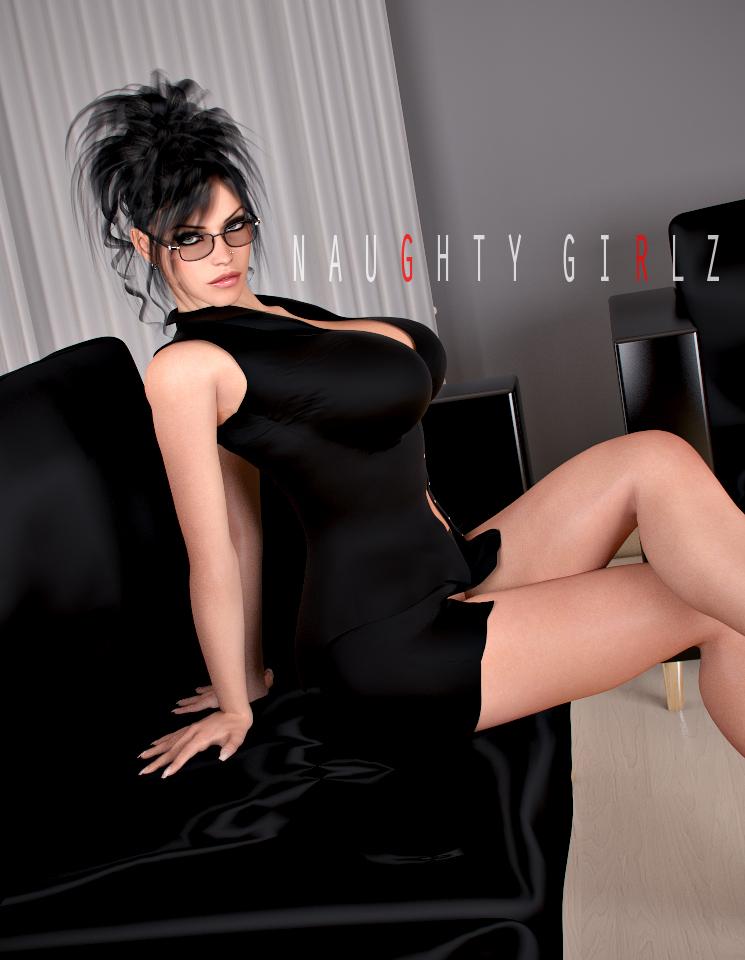 Naughty Girlz - Kelly by Render-8