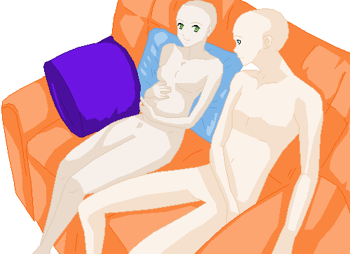 couch potato pregnancy base by ringhog