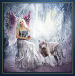 White Tiger visiting his Faery