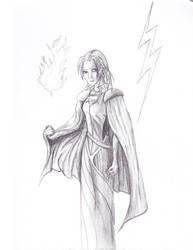 Selena Sketch by Astricon
