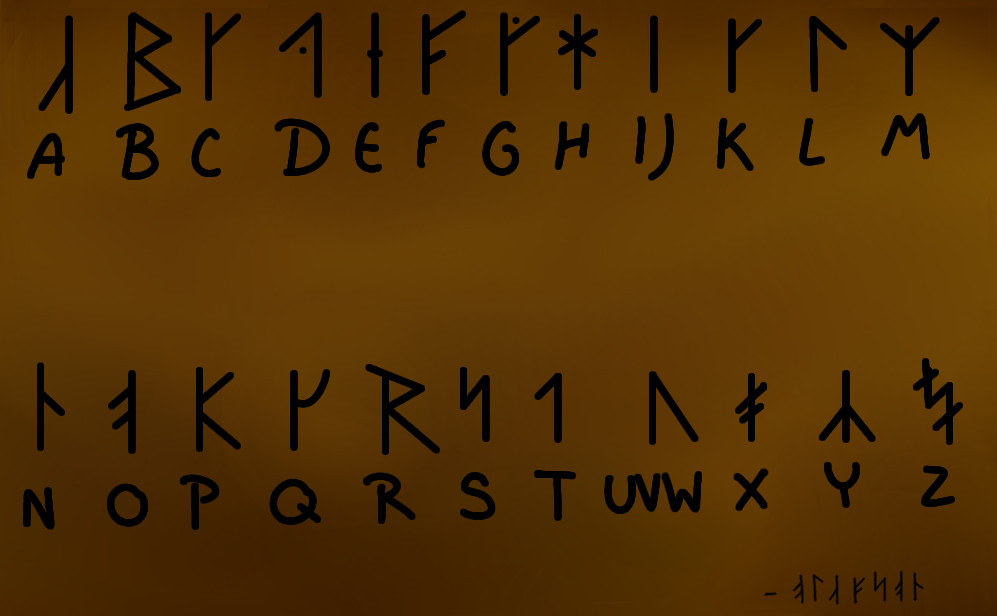 norse writing Runes and writing dear viking answer lady:  she creates old norse poetry, customized for the award recipient and based on their deeds and accomplishments.