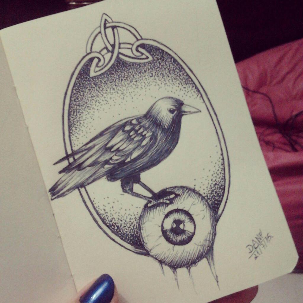 Odin's eye by DanielaLuther