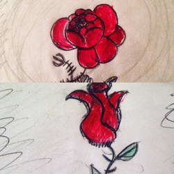 Red Roses by cartoonartist90