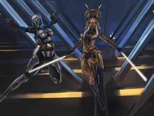 Heroins of the Siege of Mandalore
