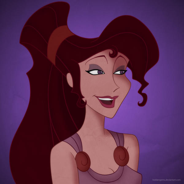 Disney Ladies: Meg by Mangsney