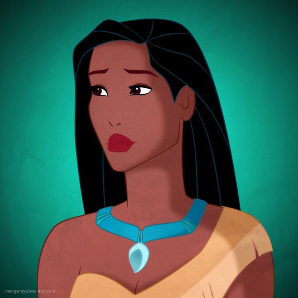 Disney Ladies: Pocahontas by Mangsney