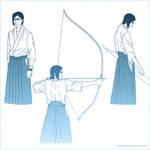 Traditional Archery Sketch Dump