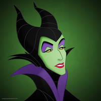 Disney Villainesses: Maleficent
