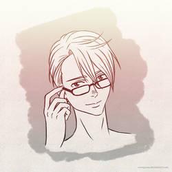 Reading Glasses (Sketch)