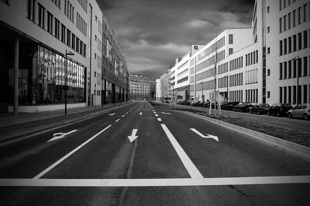 Empty Streets By Millerneutron