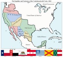 Confederacion del Norte by xpnck