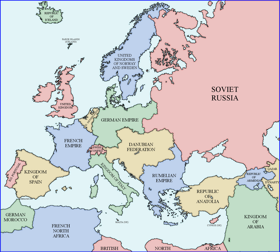 Map Of Europe Rumelia Universe By Xpnck On DeviantArt - French map of europe