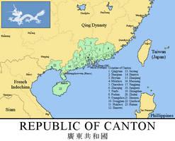 Republic of Canton, 1899 (Rumelian Universe) by xpnck