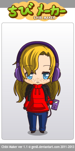 Chibi Maker me! by glaceon215