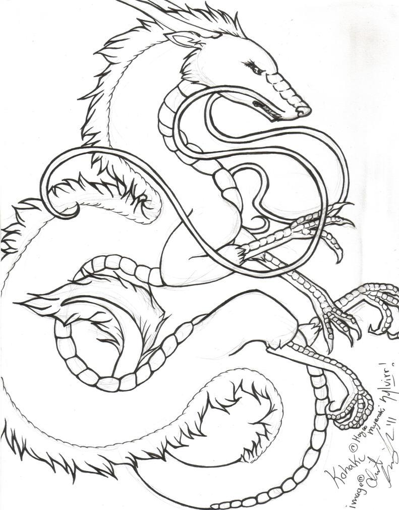 Line Art Studio Serpong : Kohaku lineart by sylvirr on deviantart