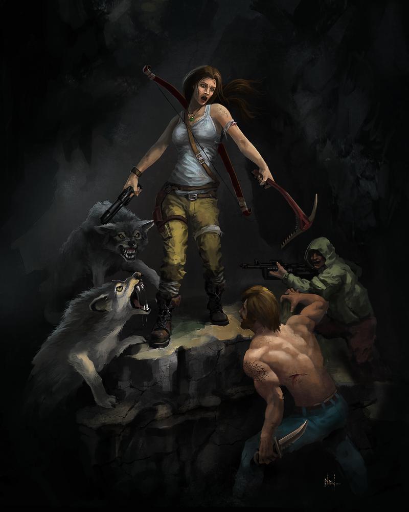 Tomb Raider - Contest by neilvk