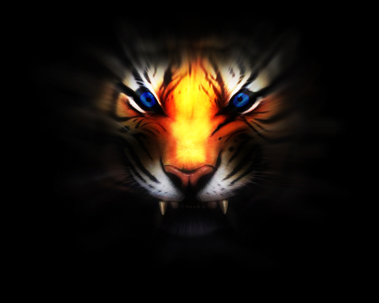 Tiger Eyes by urbanbushido