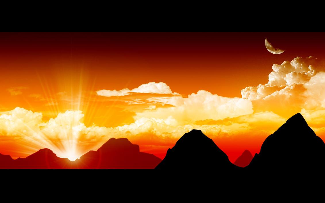 Sunrise at Machu Picchu by urbanbushido