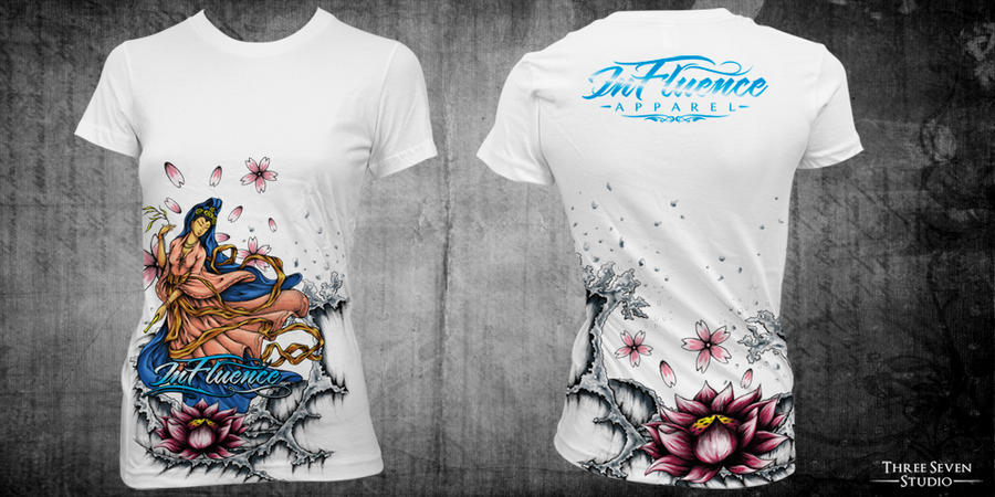 MMA T - Shirt Design : Kwan Im by seventharmy