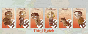 WWII Chara chibi's: The reich