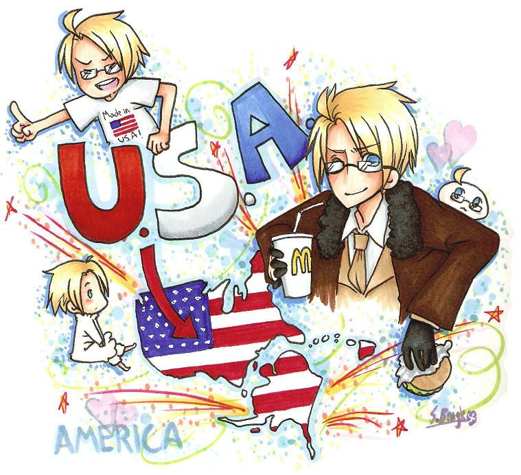 AMERICA by ChocolateLlama
