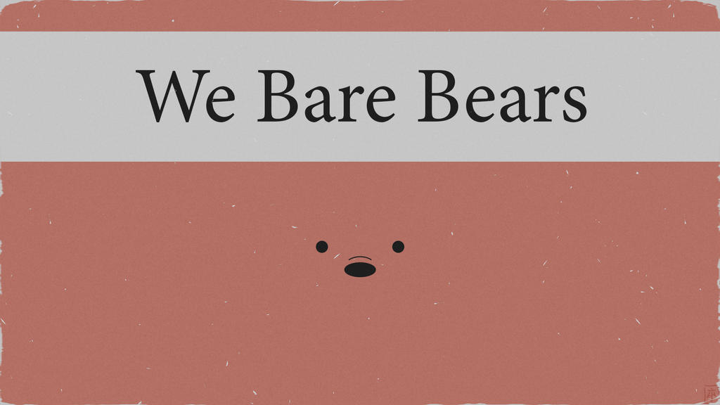 'We Bare Bears' poster by MariseHappier