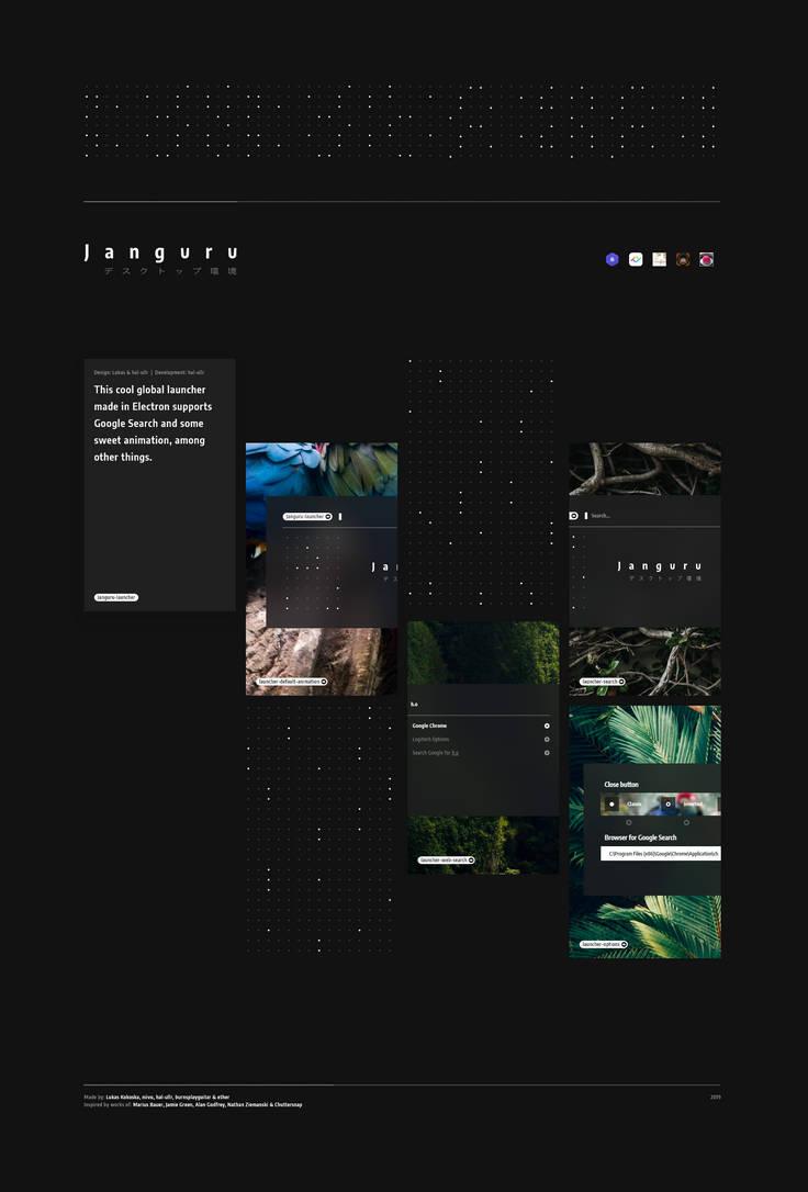 Janguru Launcher by hal-ullr
