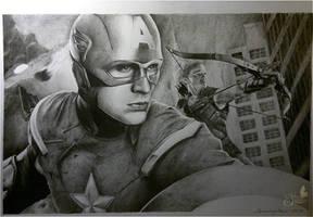 avengers by otoimai