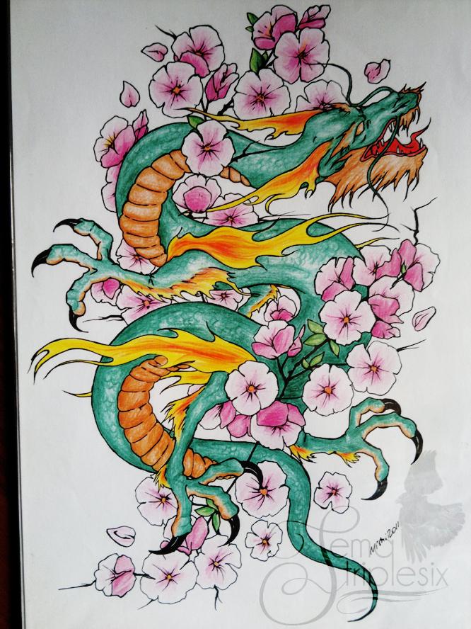 dragon by otoimai