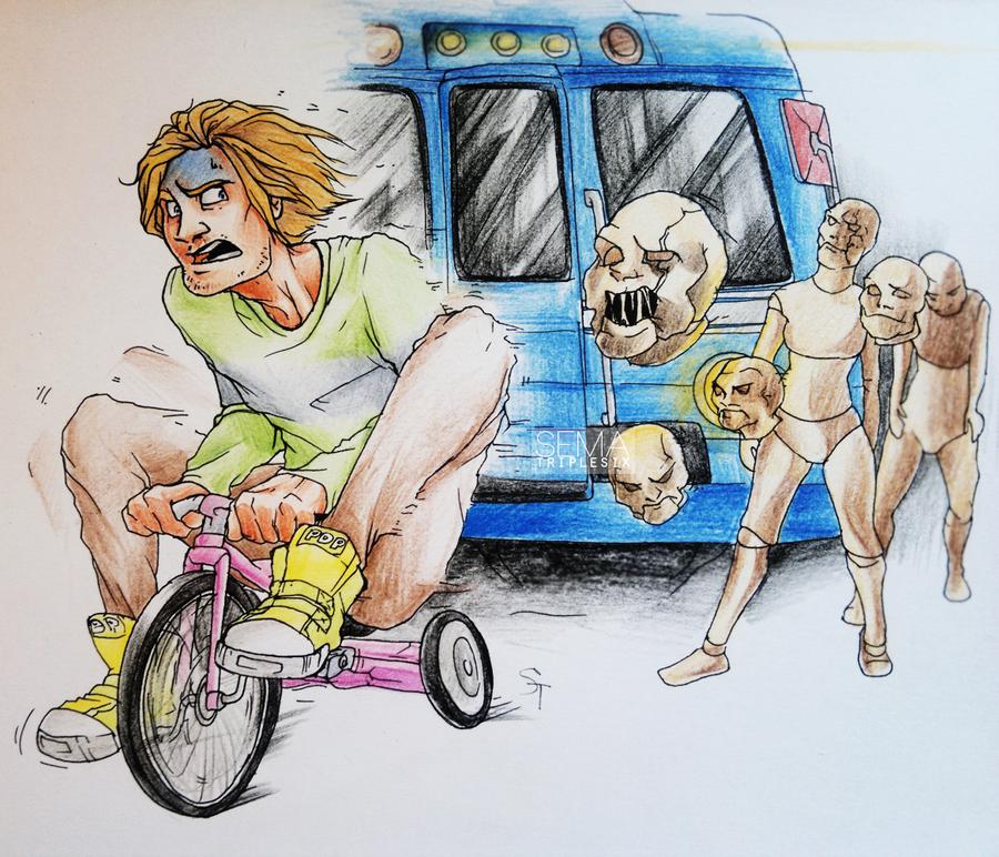 the Train by otoimai