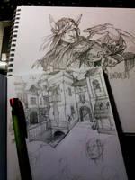 sketch by otoimai