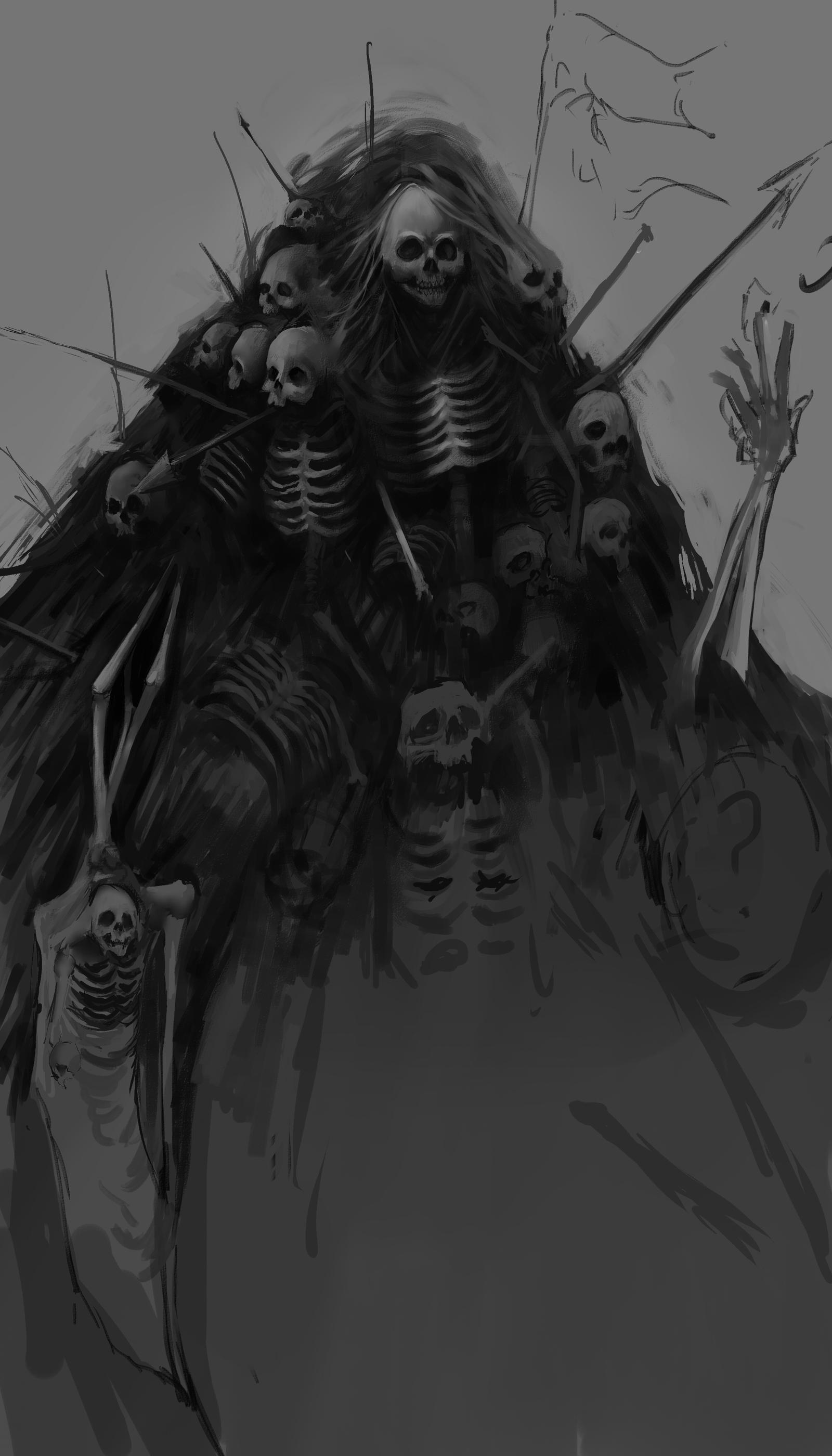 dark souls nito artwork - photo #11
