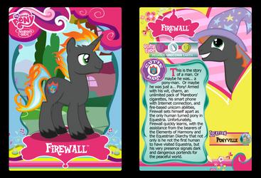 Firewall Trading Card by RinMitzuki