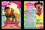 Calamity Trading Card