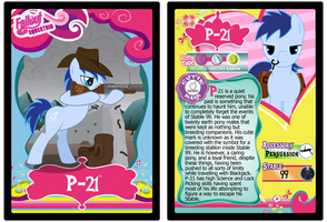 P-21 Trading Card by RinMitzuki