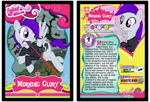 Morning Glory Trading Card