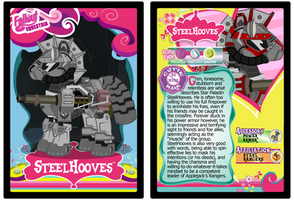 SteelHooves Trading Card by RinMitzuki