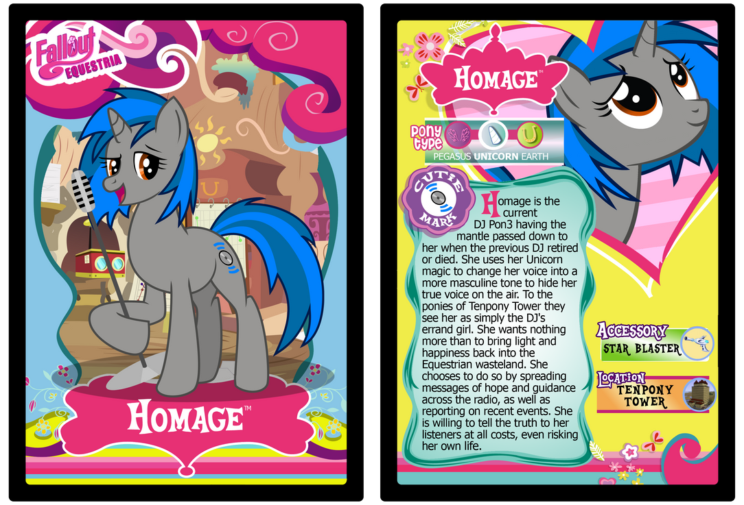 Homage Trading Card by RinMitzuki