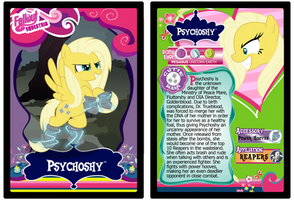 Psychoshy Trading Card by RinMitzuki