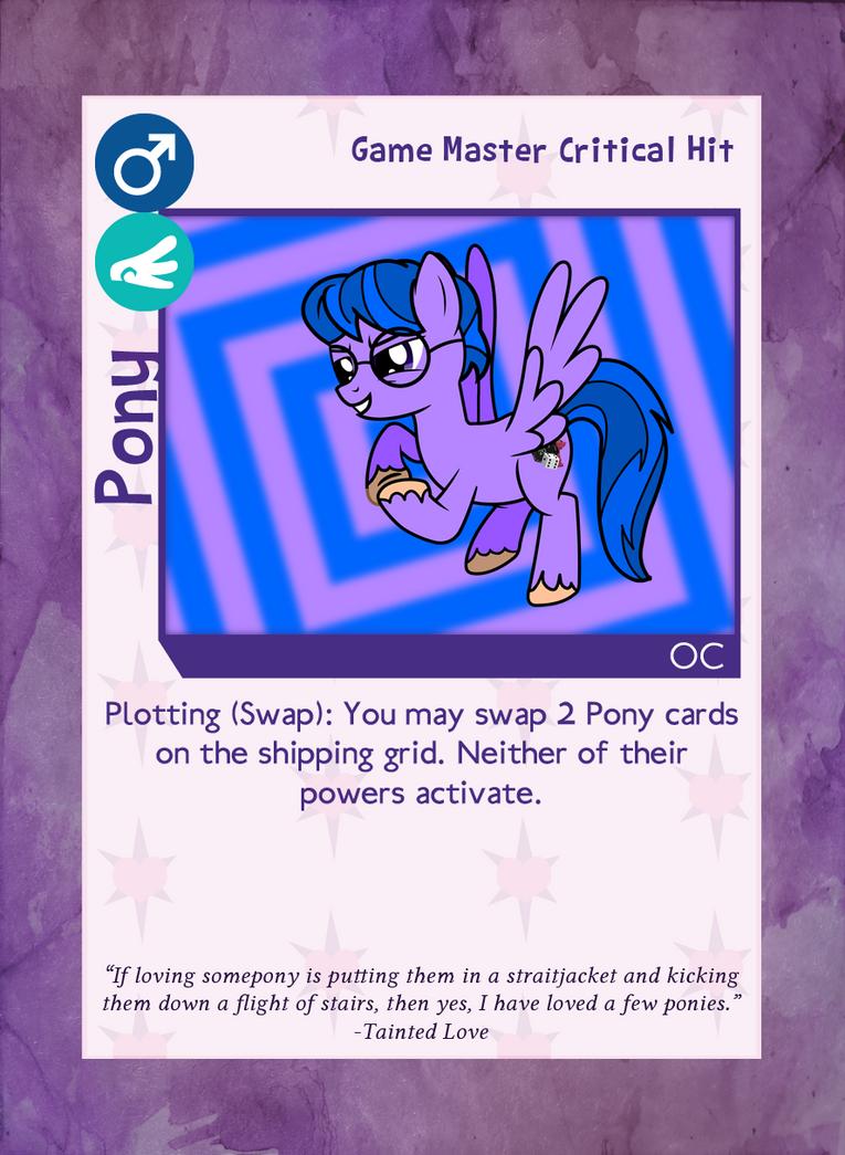 Critical Hit -Pony by RinMitzuki