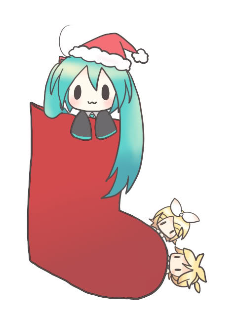Merry Christmas Miku Hatsune by Animemetalfan23 on DeviantArt