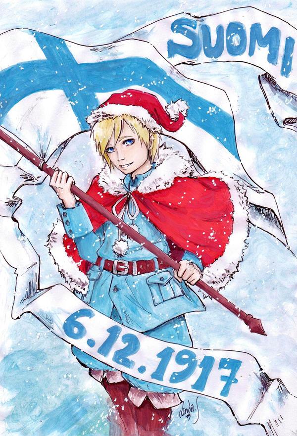 Independence day of Finland by MizuSasori