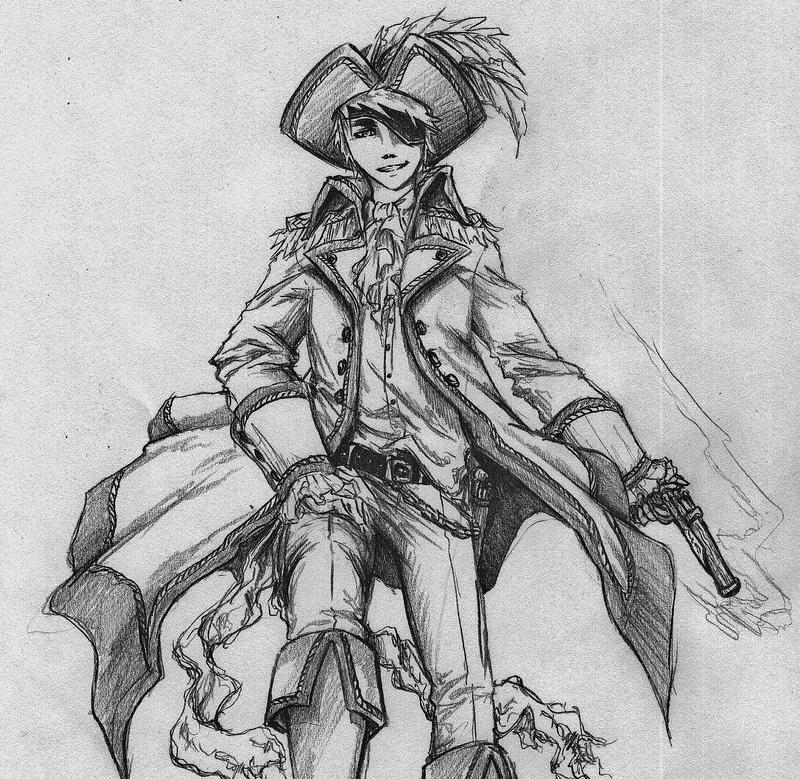 Pirate England by MizuSasori